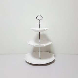 [For Rent] 3 Tier Round Cupcake Stand M010