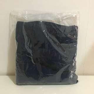 圍巾 深藍色