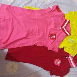 3pcs langsung ( Baju atasan size S )