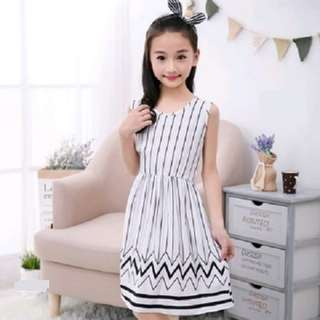 Korean Style Sleeveless Dress