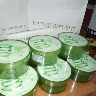 Nature Republic Aloe Vera Shooting Gel