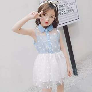 Girl Princess Lace Dress