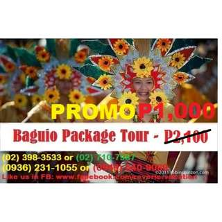 Baguio Day Tour
