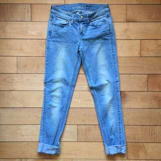 Levi's 女裝淺藍牛仔褲