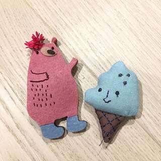 Handmade Bag Pin