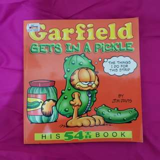BBW Comic: Garfield, Gets in a Pickle
