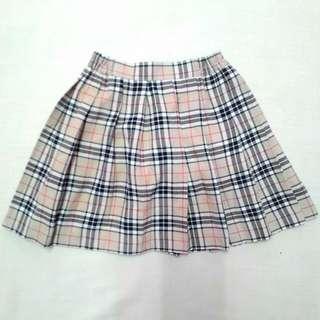 Checkered Skirt #20under