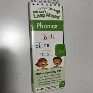 Let's Leap Ahead Phonics exercise book