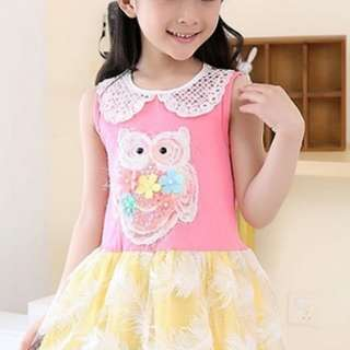 Girl Owl Dress