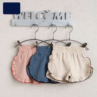 BMT444 - Girl Ruffle Shorts *Cotton*