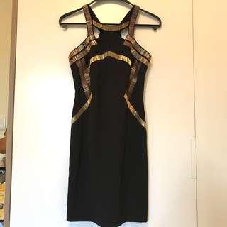 Brand New Coast Gold Detail Dress