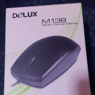 Delux M138 Wired Optical Mouse