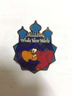 2005 Tokyo Disney Sea Rare Vintage Pin Trading Aladdin Whole New World Rare