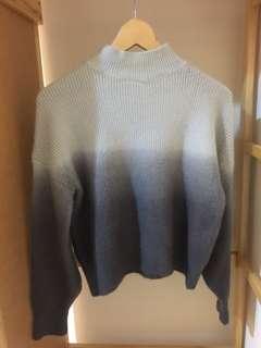 🚚 混色微高領毛衣