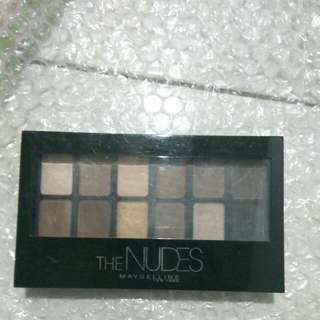[FreeOngkir] Maybelline The Nudes Pallete Eyeshadow