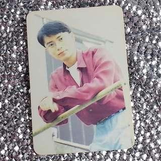 李克勤Hacken Lee 香港天王級男歌手 絕版 明星咭 明星卡 珍藏多年