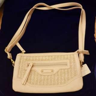 Japanese small cross body handbag 5 compartments