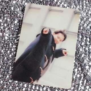 李克勤Hacken Lee 香港天王級男歌手 絕版 明星咭 明星卡 珍藏多年 早期 YesCard Yes Card Yes咭 Yes卡 歌詞:回首 (card no. 14W)