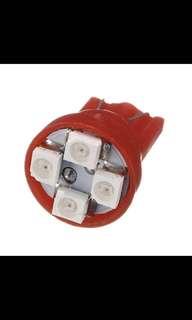 3528 4 SMD LED Dash Interior Turn Side Park Wedge Lights Bulbs