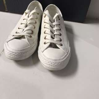 Rose gold Converse Women's Size 37