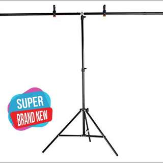 2 x 2 meter T - Portable backdrop stand