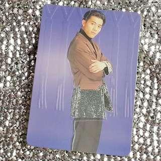 梁漢文Edmond Leung 絕版 明星咭 明星卡 珍藏多年 早期 YesCard Yes Card Yes咭 Yes卡 立體咭
