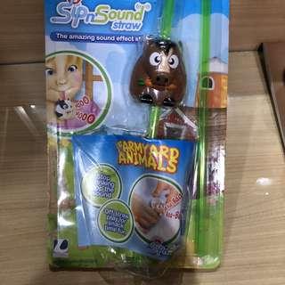 Sip & sound straw (sedotan anak)