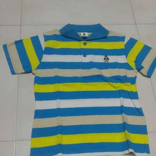 Stripe with cute bear t shirt for toddlers