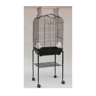 Open-Top Cage with Stand