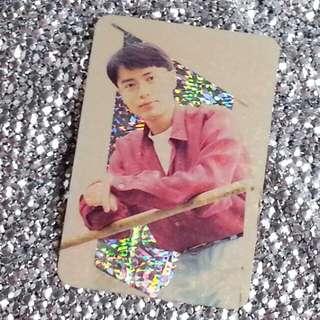 李克勤Hacken Lee 香港天王級男歌手 絕版 明星咭 明星卡 珍藏多年 閃咭 閃卡 閃Card