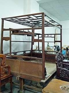檜木古早棉床