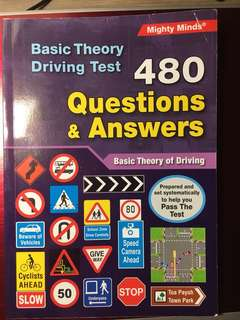 Basic Theory Driving Test 480 Questions & Answers