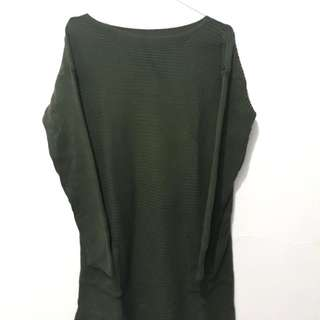 Green Army Knit