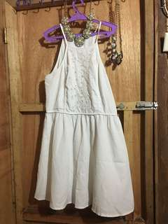 Kendal & Kylie Collection: White Dress (Pre Loved)
