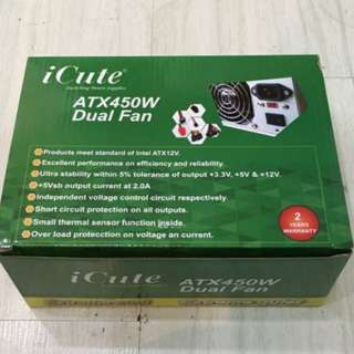 450w Icute power supply
