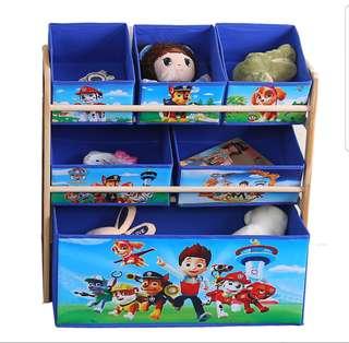 Paw Patrol - Kids' Toys Storage Drawers/Rack/Shelf