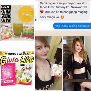 Gluta Lipo Whitening and Slimming Juice