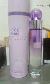 Authentic Perry Ellis 360 Purple 100ml