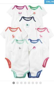 NEW without tag Carters Romper 7-piece set