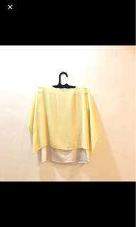 Blouse yellow kuning