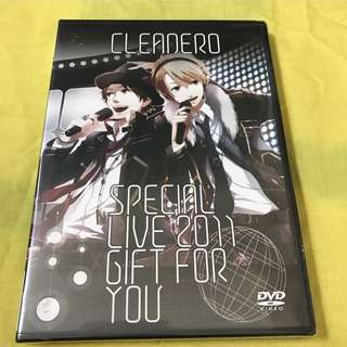 cleanero special live 2011 ~Gift for you~ DVD