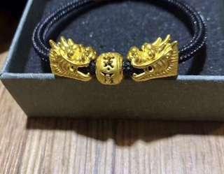 Pure gold 龍頭+ 六字真言