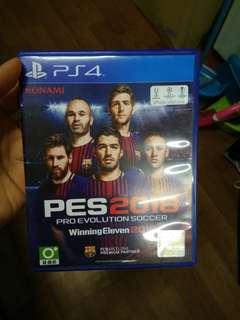 PS4 PES 18