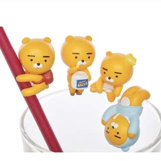 Kakao Friends Ryan杯緣子1 set預購!