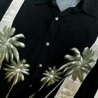 Vintage Hawaiian Panel Print Shirt