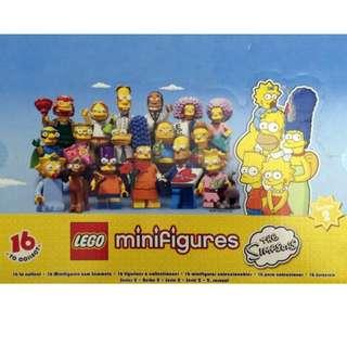 LEGO 71009 Simpsons minifig 一盒60隻連彩盒 - 全新未開