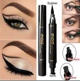 Charming cateye waterproof eyeliner + eye wing stamp