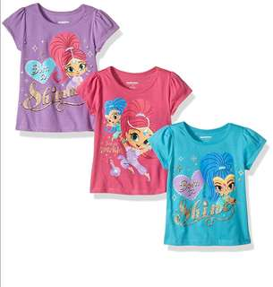 [Juniorcloset] 🆕 Authentic Nickelodeon Shimmer and Shine tee (Size 5)