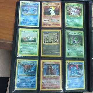 Old School Pokemon Cards