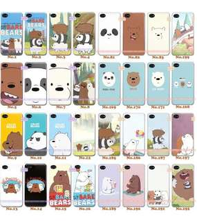 [2 For $40!] BN We Bare Bears Samsung J Series TPU Soft Case